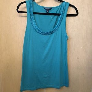 Banana Republic Large Ruffle Tank